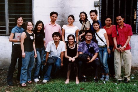 Cielo, Sophia, Tris, April, Pima, Mark. Sheila, Peluchi, Urk, Ean, Armi, Paul