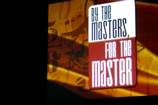by the masters