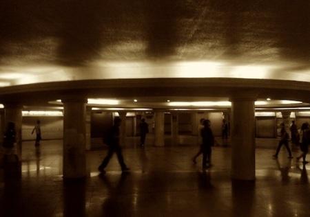 Lacson Underpass - Still Empty bw