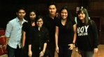With the amazing videography team.