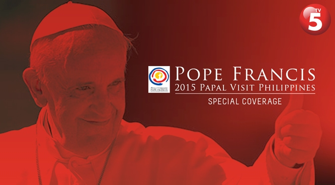 TV5 Music Scores for 2015 Papal Visit