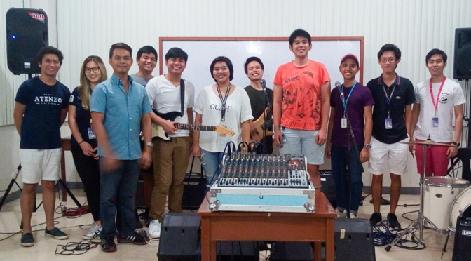 Workshop with Ateneo Musicians' Pool